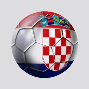 "Croatian Football 3.5"" Button"