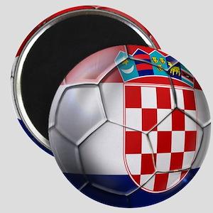 Croatian Football Magnet
