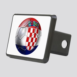 Croatian Football Rectangular Hitch Cover