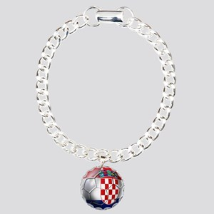 Croatian Football Charm Bracelet, One Charm