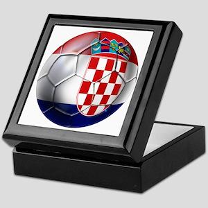 Croatian Football Keepsake Box