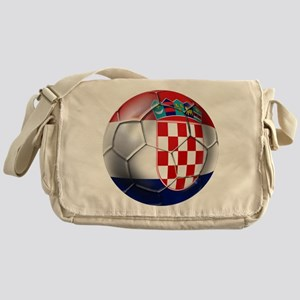 Croatian Football Messenger Bag