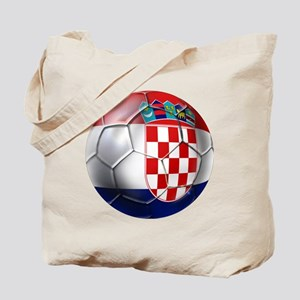 Croatian Football Tote Bag