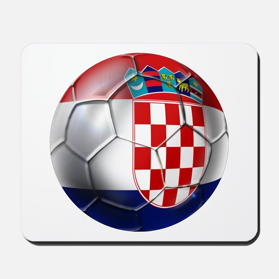 Croatian Football Mousepad