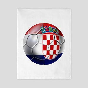 Croatian Football Twin Duvet