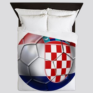 Croatian Football Queen Duvet