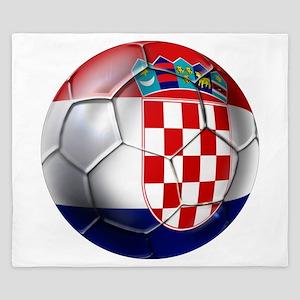 Croatian Football King Duvet