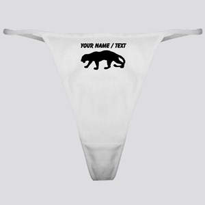 Custom Panther Silhouette Classic Thong