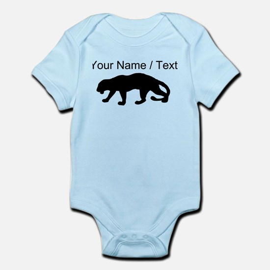 Custom Panther Silhouette Body Suit