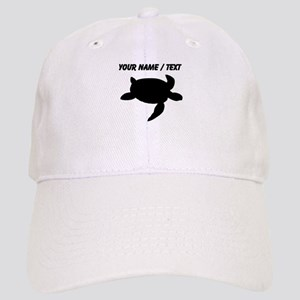 f925ecf1b5f Custom Sea Turtle Silhouette Baseball Cap