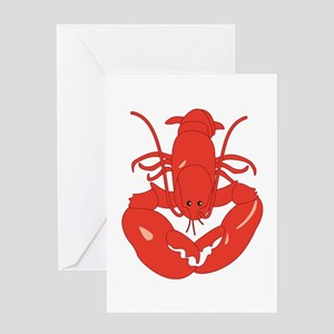 Maine Lobster Greeting Cards