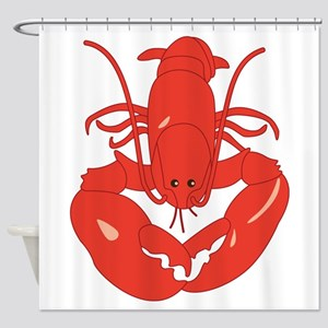 Maine Lobster Shower Curtain