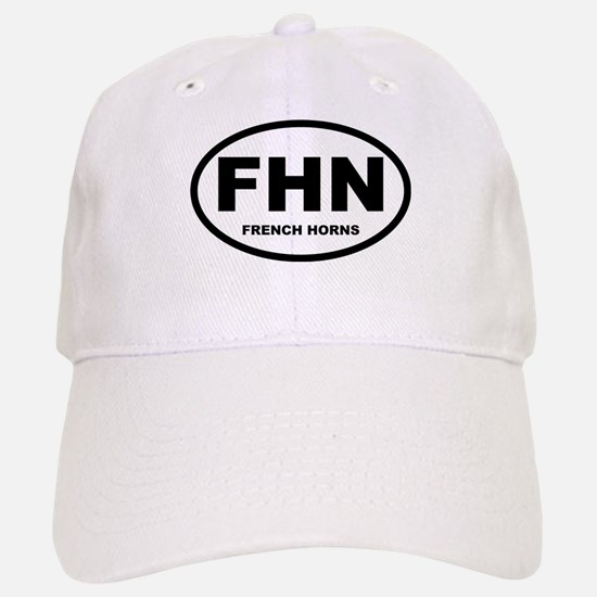 French Horns! Baseball Baseball Cap