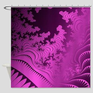 Glorious2PurpleFrac Shower Curtain
