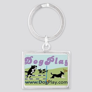 DogPlay Sign Keychains