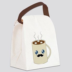 Classy Cocoa Canvas Lunch Bag