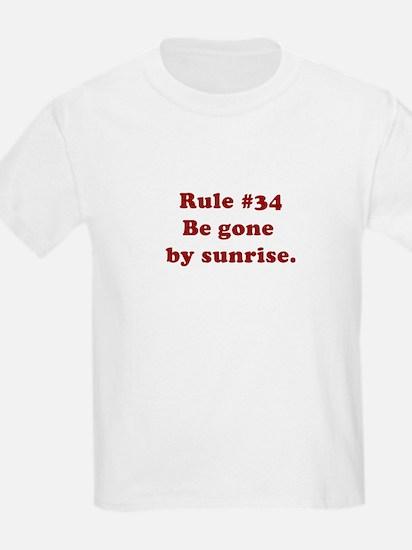 Rule #34 T-Shirt
