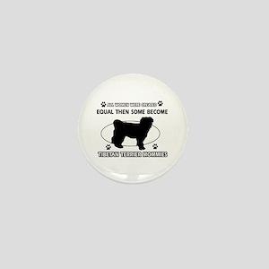 Tibetan Terrier mommy designs Mini Button