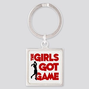 GOT GAME, B-BALL Square Keychain