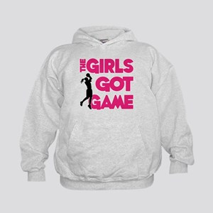 GOT GAME, B-BALL Kids Hoodie