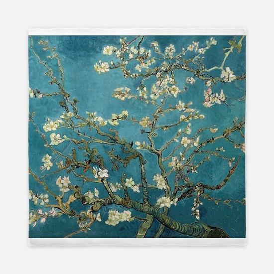 Almond Blossoms Queen Duvet