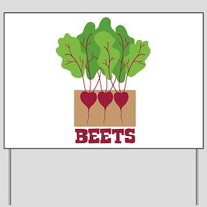 BEETS Yard Sign