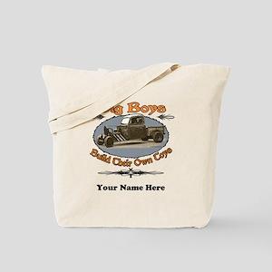 Rat Rod Truck Rusty Metal Tote Bag