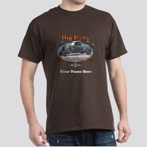Rat Rod Truck Rusty Metal Dark T-Shirt
