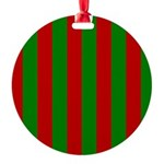 Toksie Turbies Green Red Wallpaper Ornament