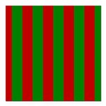 Toksie Turbies Green Red Wallpaper Square Car Magn