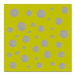 Toksie Turbie Gold and Silver Polka Dots Square Ca