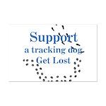 Tracking Mini Poster Print
