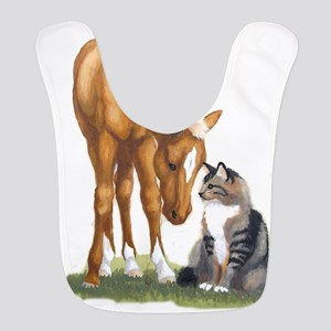 mini sorrel cat Bib