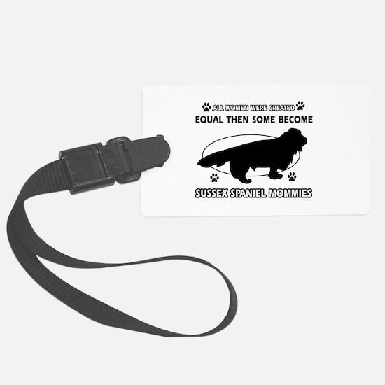 Labrador dog breed mommy designs Luggage Tag