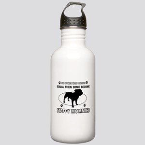 Staffy mommy designs Stainless Water Bottle 1.0L