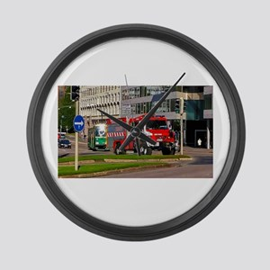 Clearance Truck Large Wall Clock