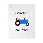 Blue Tractor Junkie Twin Duvet