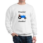 Blue Tractor Junkie Sweatshirt