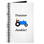Blue Tractor Junkie Journal