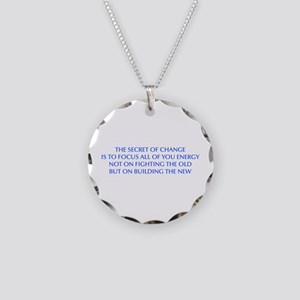 SECRET-OF-CHANGE-OPT-BLUE Necklace