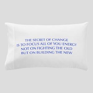 SECRET-OF-CHANGE-OPT-BLUE Pillow Case