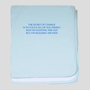 SECRET-OF-CHANGE-OPT-BLUE baby blanket