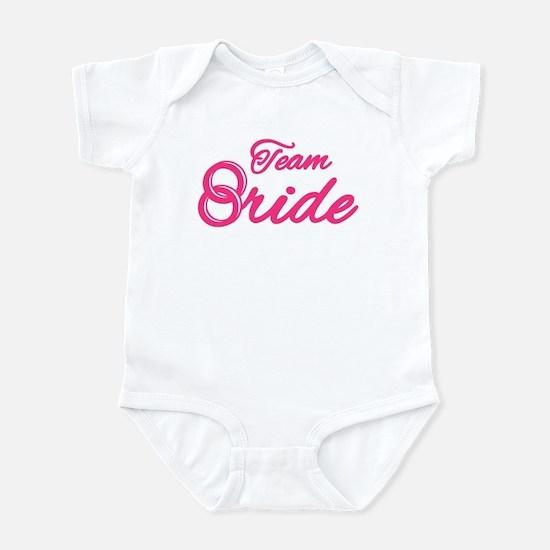 Team Bride Bachelorette Party Infant Bodysuit