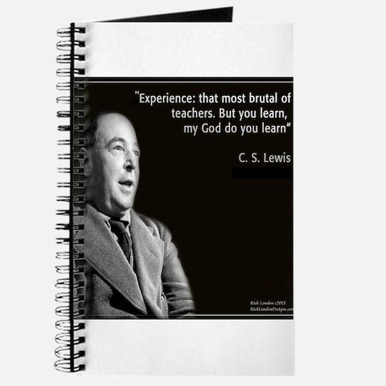 CS Lewis My God Quote Journal
