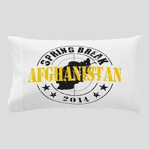 Spring Break Afghanistan 2014 Pillow Case