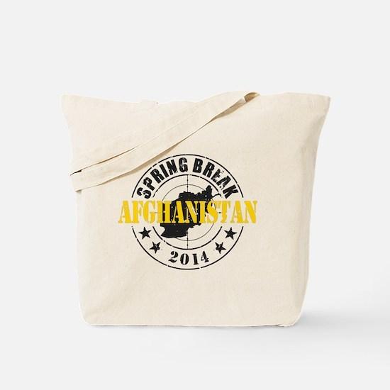 Spring Break Afghanistan 2014 Tote Bag