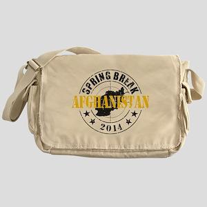 Spring Break Afghanistan 2014 Messenger Bag