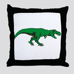 T Rex 3 Throw Pillow