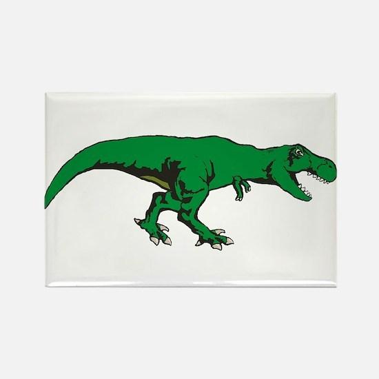 T Rex 3 Rectangle Magnet (100 pack)