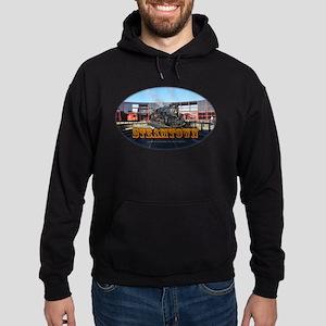 steamtownovalBlack Hoodie